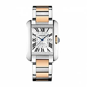 Cartier Tank Anglaise Automatic-self-Wind Female Watch W5310037 (Certified Pre-Owned)