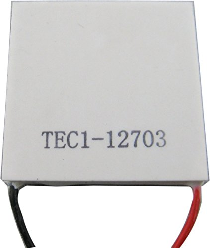 Yeeco High Power TEC Thermoelectric Cooler Generator Cooling Peltier Plate Module Thermostat Cooling Controller DC 12V 40mm40mm by Yeeco (Image #3)