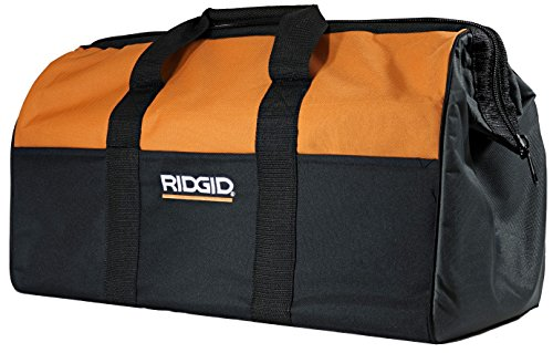 "Ridgid Genuine OEM Canvas Power Tool Contractor's Bag (22"" x 11"" x 10"") (Cordless Ridgid Set Tool Power)"