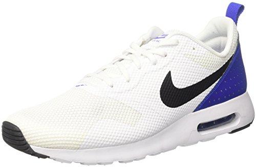 Nike Heren Air Max Tavas Hardloopschoenen Wit / Zwart / Primitief Blauw