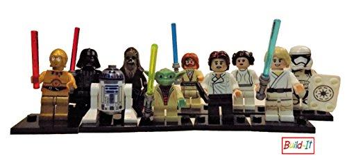 Build It Star Wars Action Figures Lego Compatible Minifigures Classic 10 Piece Set