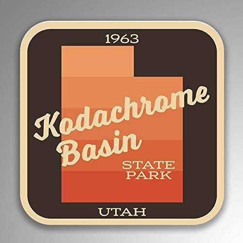 JB Print Kodachrome Basin State Park Explore Wanderlust Camping Hiking Vinyl Decal Sticker Car Waterproof Car Decal Bumper Sticker 5