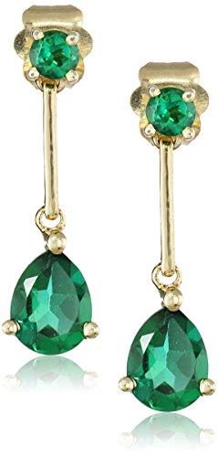 14k-Gold-Linear-Teardrop-Earrings