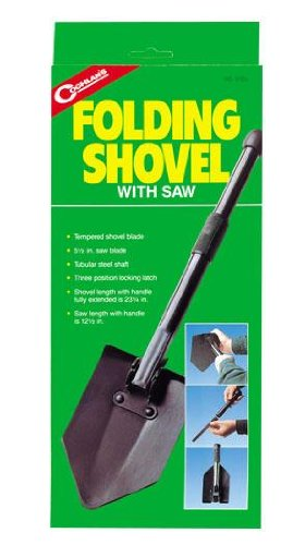 Coghlan's Folding Camp Shovel with Saw ()