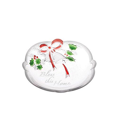 Mikasa Holiday Holly (Celebrations by Mikasa Holiday Bells 'Bless this Home' Sweet Dish,)