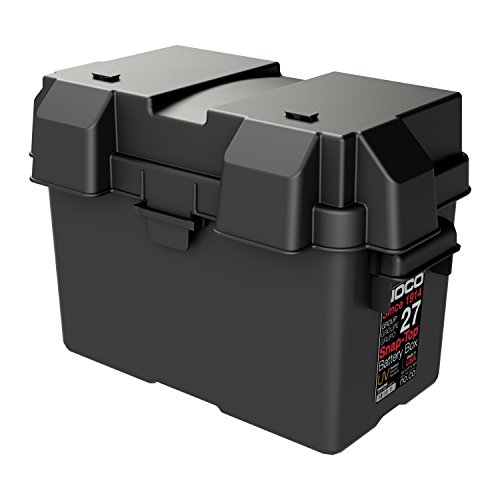 Noco Hm327bks Group 27 Snap Top Battery D89box Black