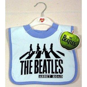 The Beatles Abbey Road Bib ~ Blue (Bib Beatles)