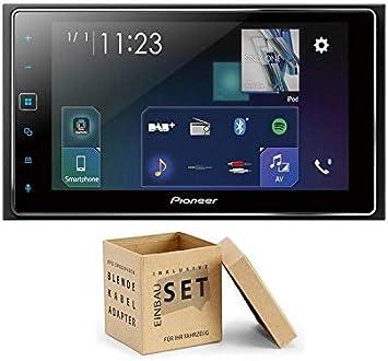 Pioneer Radio SPH-DA130DAB 2DIN Apple CarPlay Waze con Antena + Kit de instalación para Citroen Berlingo (B9) Piano Black con Canbus: Amazon.es: Electrónica