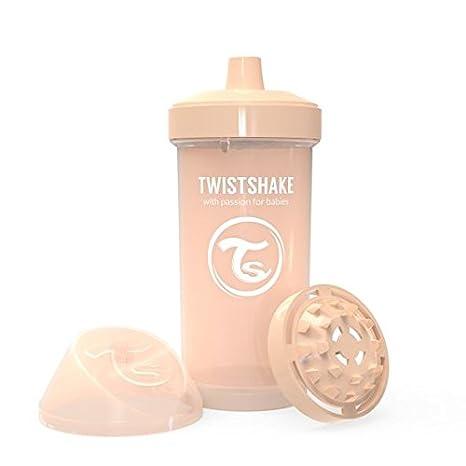 Twistshake 78283 - Vaso con boquilla, color pastel beige ...