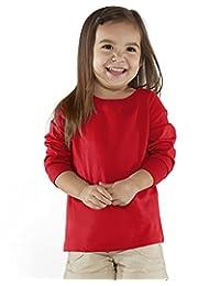 Rabbit Skins Fine Jersey Toddler Long Sleeve T-Shirt