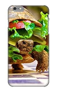 Honeyhoney High Quality Shock Absorbing Case For Iphone 6 -Cheese Turtle Burger By K23