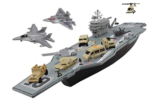 Navy Aircraft Carrier - Daron Worldwide Trading Aircraft Carrier BP96243 Playset
