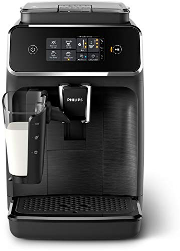 Philips 2200 Series Fully Automatic Espresso Machine w/Lattego, EP2230/14, Black