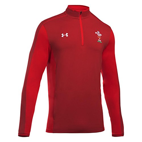 Under Armour Wales Rugby WRU 1/4 Zip 17/18-DDR