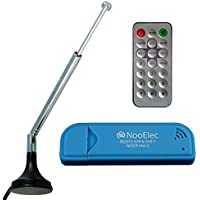 NooElec NESDR Mini 2 SDR & DVB-T USB Stick (RTL2832 + R820T2) with Antenna and Remote Control