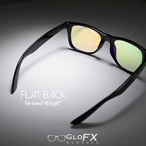 GloFX Homme Lunettes de Kaléidoscope - arc électroérosion diffraction de lumière  rave  Amazon.fr  Vêtements et accessoires 6d2c615ff866