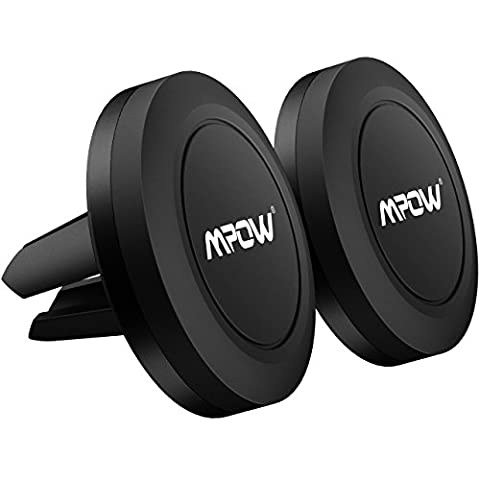 Mpow Car Phone Holder,Universal Air Vent Magnetic Car Mount for iPhone 7/7Plus/6s/6Plus/5S, Galaxy S5/S6/S7/S8, Google Nexus, LG, Huawei and More[2 - Cars Exterior Accessories