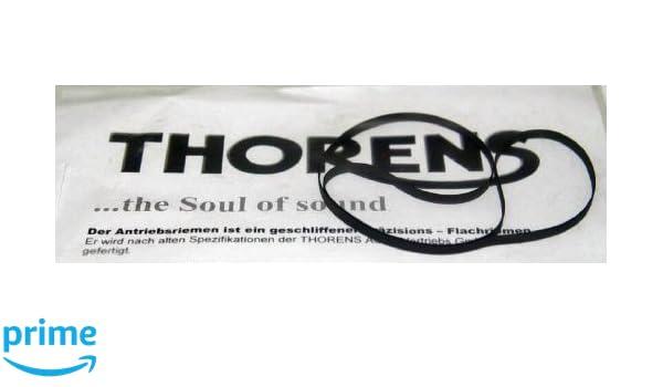 Thorens 6800574 - Correa de tocadiscos, recambio original: Amazon ...