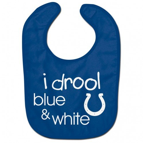 WinCraft NFL Indianapolis Colts WCRA1962814 All Pro Baby Bib