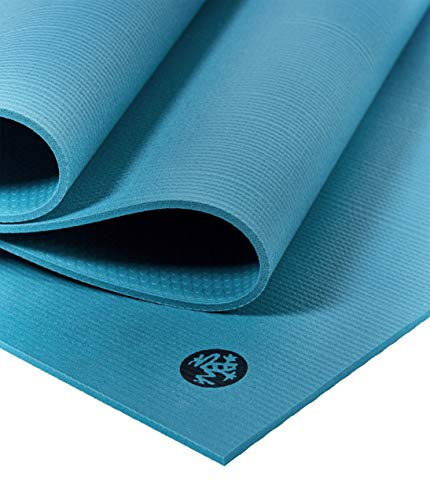 (Manduka Pro Series Yoga and Pilates Mat - Bondi Blue - 6mm x 71