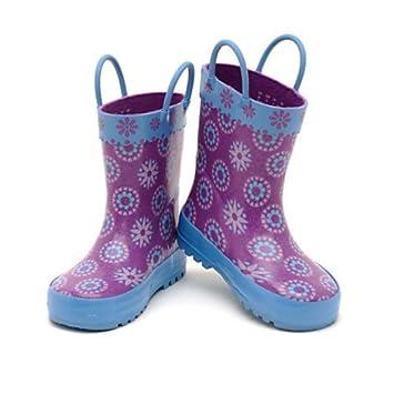 Diseny- Die Eiskönigin - völlig unverfroren - Gummistiefel für Kinder - regen Stiefel- UK Größe, 12 - EU Größe 31