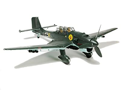 Airfix A18002 1:24 Scale Junkers Ju-87B Stuka Military Aircraft Classic Kit Series 18