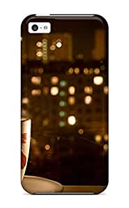 Ideal HeatherAPhillips Case Cover For Iphone 5c(night Time Coffee), Protective Stylish Case