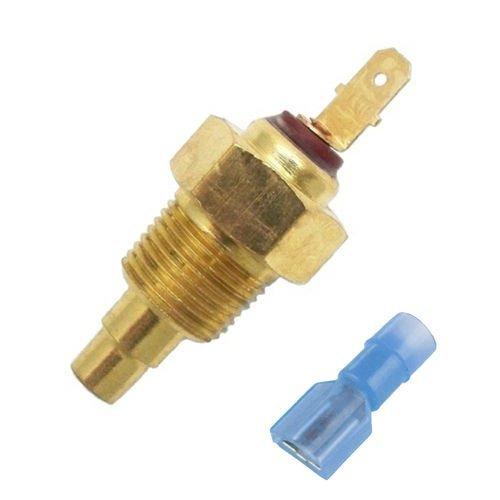American Volt 2 Pack 185f Electric Fan Thermostat Sensor Sender Switch 3//8 Npt Thread Ground