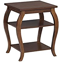 Powell 14A8092 Panorama Table, Hazelnut