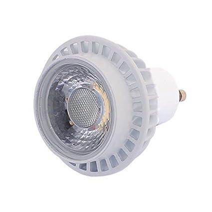 eDealMax AC85-265V 3W GU10 Base COB LED Foco Lámpara Bombilla Ahorro de Energía blanco cálido - - Amazon.com