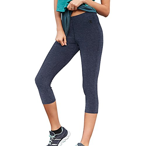 Champion Go To Women's Knee Tights_Granite Heather_L