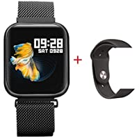 Smart Watch Relógio Inteligente P80 A Prova De Água IP68 Full Trouch Screen Pronta Entrega (Preto)