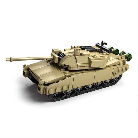(koolfigure Custom Sets of WW2 Military Army Tanks, Building Blocks Toy for Kids Aged 6+ (Leclerc Tank))