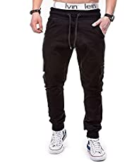 kaimimei Men's Fashion Cargo Pants Jogger Casual Trousers Gym Athletic Running Sweatpants Slim Fit Pants