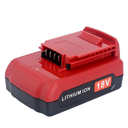Epowon 2500mAh Replace Porter Cable 18-Volt Lithium Battery for PC18B PC18BL PC18BLX PCXMVC Cordless Tools Batteries