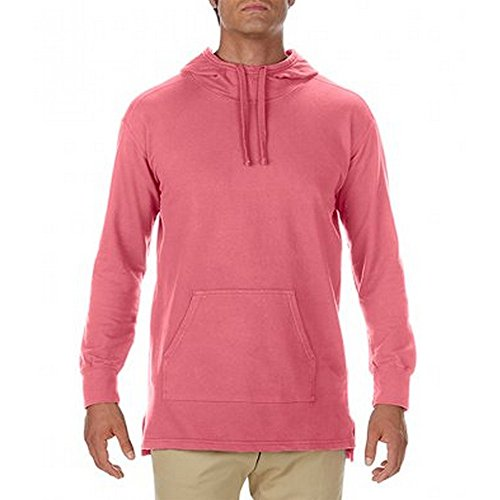 Comfort Colors Mens French Terry Scuba Hoodie (S) (Watermelon) ()