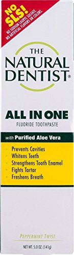 Natural Dentist - Natural Dentist All In One Toothpaste Original Peppermint Twist - 5 Oz - Pack Of 1 ()