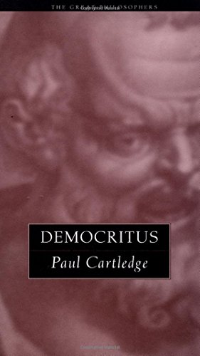 Democritus: The Great Philosophers (The Great Philosophers Series)