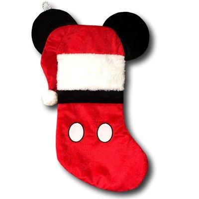 kurt adler disney mickey mouse christmas stocking with ears 19 inches - Mickey Mouse Christmas Stocking