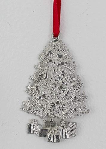 926 Christmas Tree Ornament Pewter