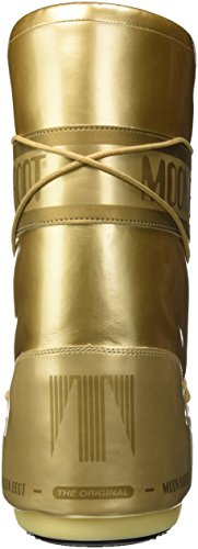 Met Unisex Boots Vinile Adults' Bianco Moon Gold Snow Boot wB5xSqyyIR