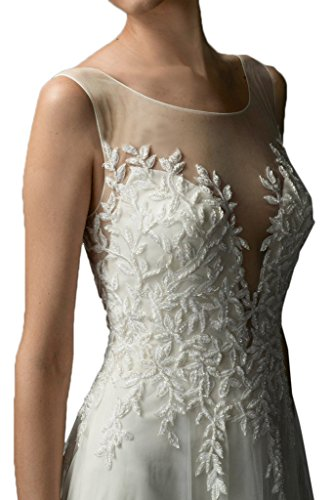 Missdressy Wunderschoen Neu 2017 Satin Lang Tuell Schleppe Aermellos Hochzeitskleider Brautkleider Abendkleider