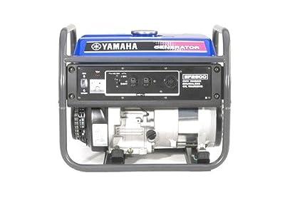 Yamaha EF2600, 2300 Running Watts/2600 Starting Watts, Gas Powered Portable Generator, CARB Compliant
