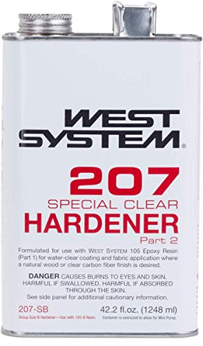 West System 105-B Epoxy Resin (.98 gal) With 207-B Special Clear Epoxy Hardener (.33 gal) and Epoxy Metering Pump Set by WEST SYSTEM (Image #7)