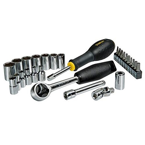 Stanley STHT0-73931 Socket wrench-Set 28-piece Silver