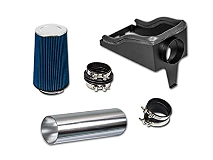 R/&L Racing 4 Red Heat Shield Cold Air Intake Filte 99-03 for Ford F250//F350 Super Duty Excursuion 7.3L V8 Turbo