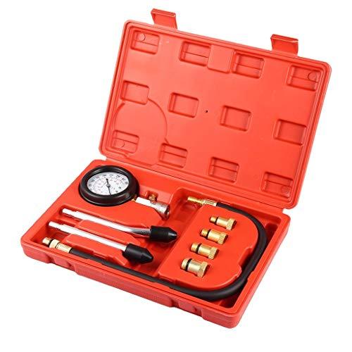 VICCKI Petrol Gas Engine Cylinder Compression Tester Kit Gauge Automotive Diagnostic