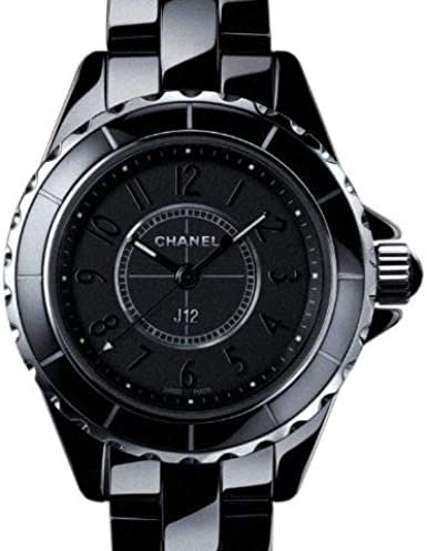 Chanel J12 29 mm Intenso Negro h4196: Amazon.es: Relojes