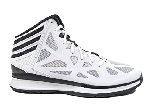 Adidas Crazy Shadow 2.0 Mens Basketball Shoe 9.5 White Black - Buy Online  in Oman.  5a5d875427