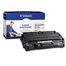 Verbatim Samsung ML-1210D3 Remanufactured Laser Toner Cartridge, Black 95508